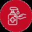 Medidas COVID-19: gel hidroalcohólico